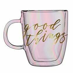 Good Things Double-Wall Glass Mug