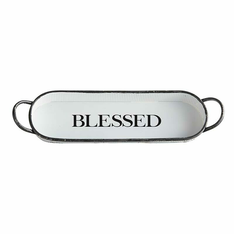 Blessed Oval Tray