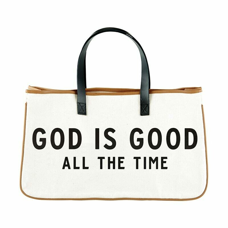 God is Good canvas Tote