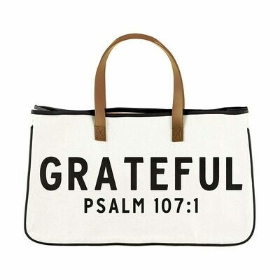 Grateful Canvas Tote