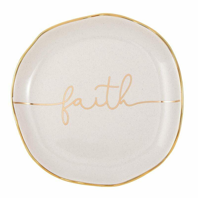 Trinket Tray- Faith
