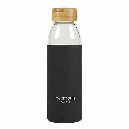 Be Strong Glass Bottle