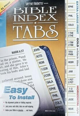 Bible Index Tabs