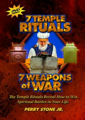 7 Temple Rituals, 7 Weapons of  War - DVD