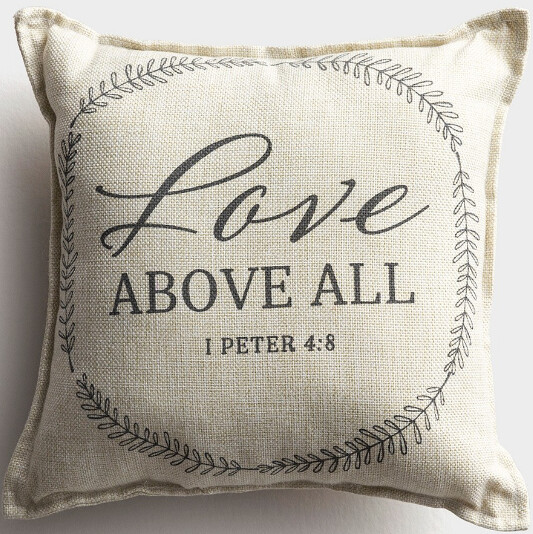 Love Above All Pillow