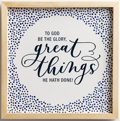 Great Things Wall Decor
