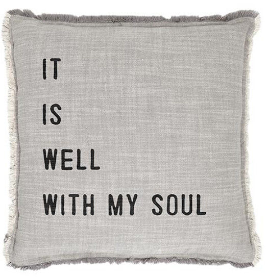 It is Well Pillow