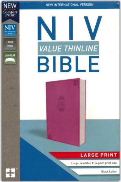 NIV Pink Thinline Bible