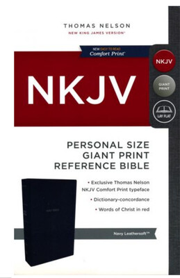 NKJV Personal Size Bible BLUE