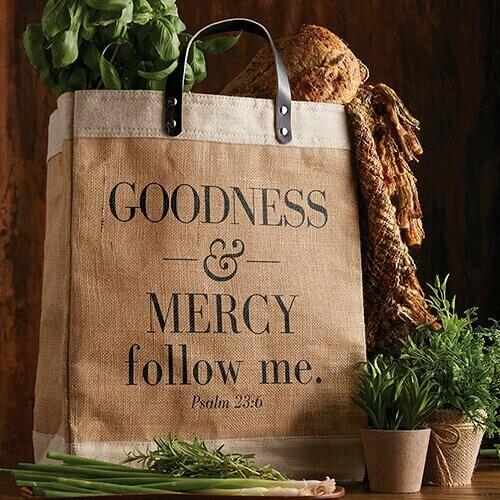 Market Tote - Goodness & Mercy