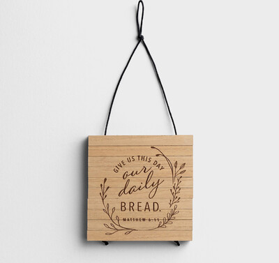 Give Us This Day Trivet