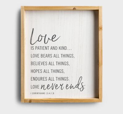 Love Wood Wall Decor