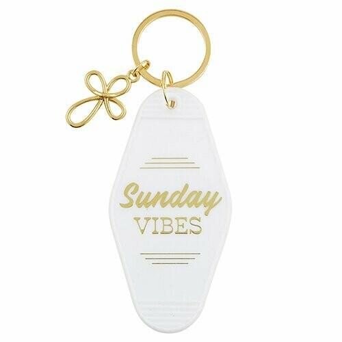 Sunday Vibes Keychain