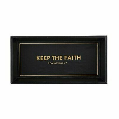 Valet Tray- Keep The Faith