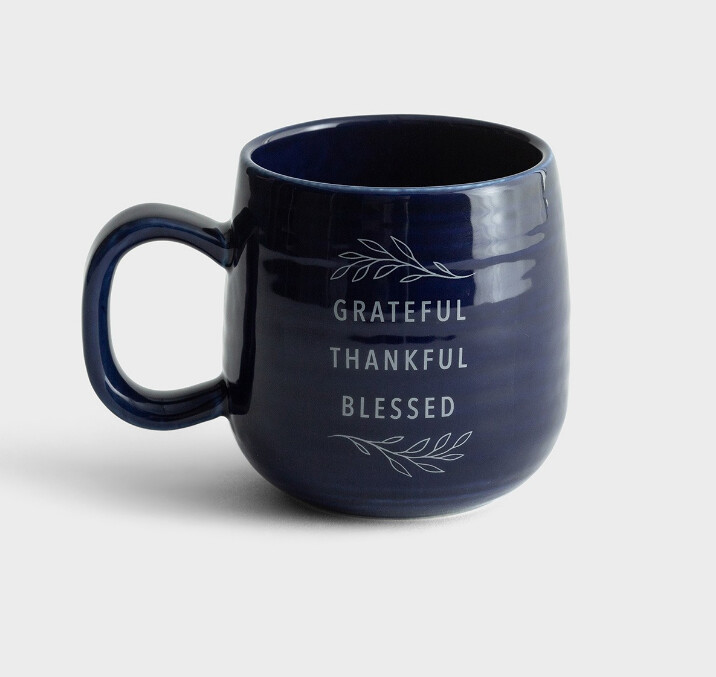 Grateful Thankful Blessed Mug