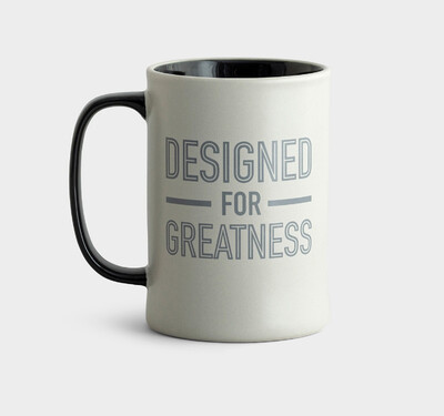 Designed for Greatness mug
