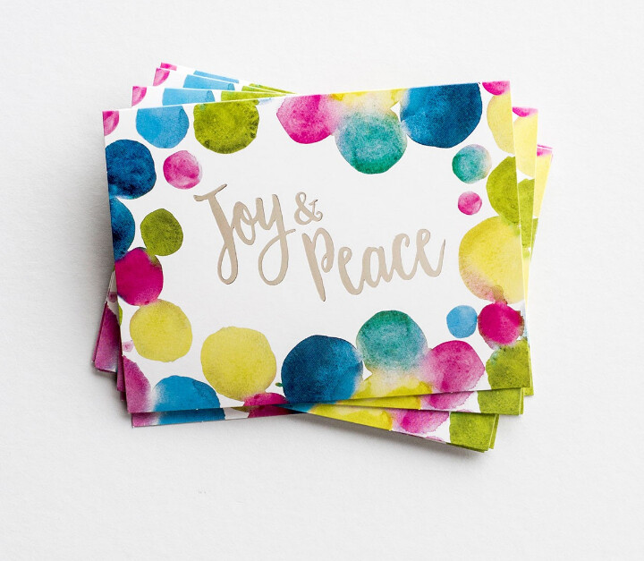 Joy and Peace Notecards