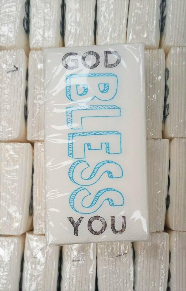 God Bless You Tissues