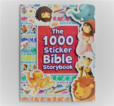 1,000 Sticker Bible