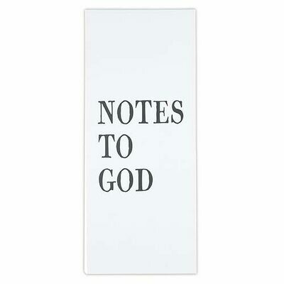 Notes to God