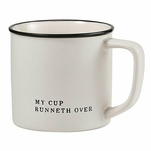 My Cup Runneth Over Mug