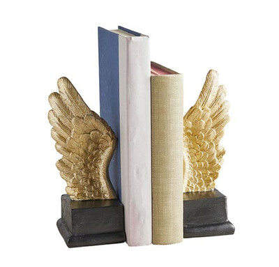 Angel Wings Bookends Set