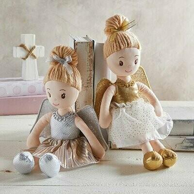 Silver Angel Doll