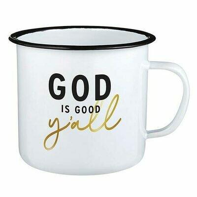 God Is Good Y'all mug