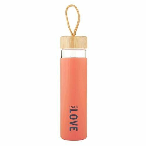 Love Glass Water Bottle