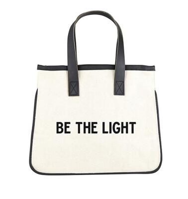 Mini Canvas Tote | Be The Light