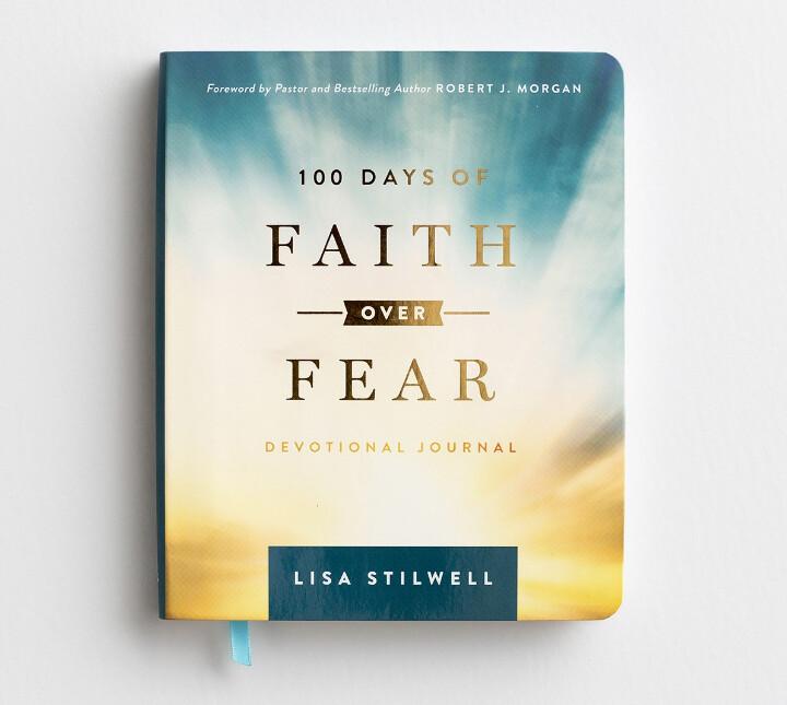 100 Days of Faith Over Fear - Devotional Journal