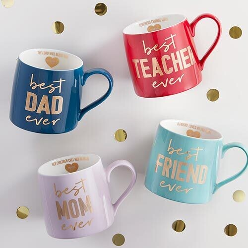 Best Ever Mugs   Pack of 8