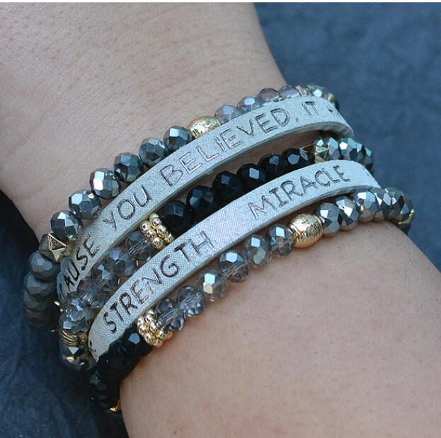 Because You Believed Bracelet