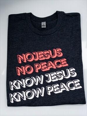 No Jesus/Peace unisex