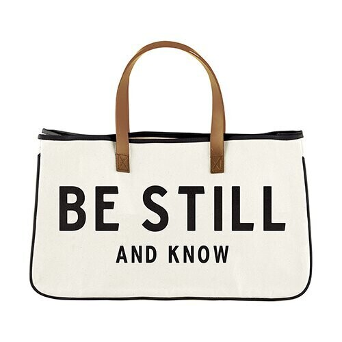 Be Still and Know Tote