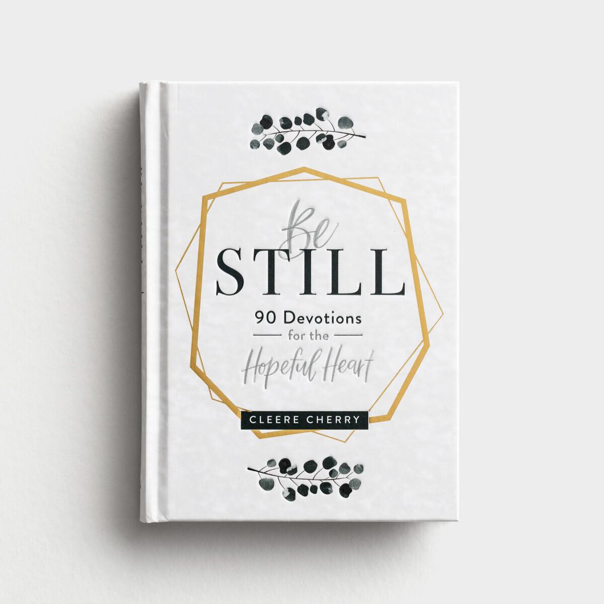 Be Still Devotional