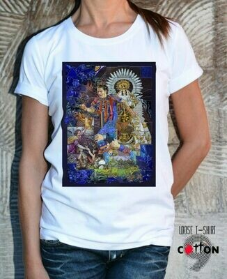 Leonel Messi Barcelona Football Cotton T-Shirt