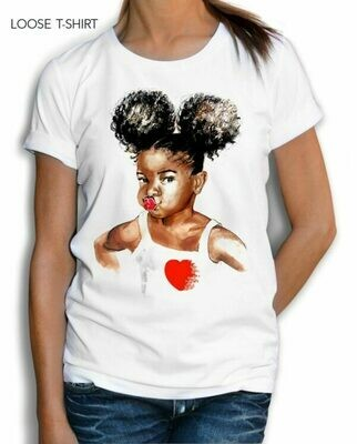 African Baby Print Cotton T-shirt