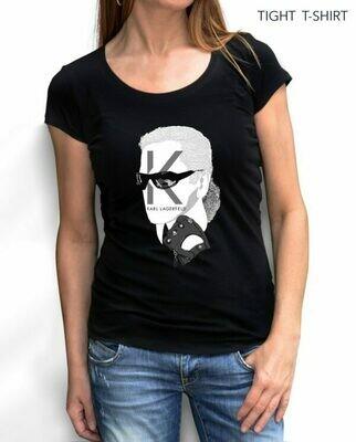 Karl Who Fashion Print Cotton T-shirt