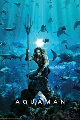 Aquaman Maxi Poster One Sheet