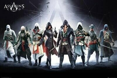 Assassins Creed Maxi Poster Characters