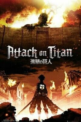 Attack on Titan Maxi Poster Key Art