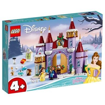 Belles winterliches Schloss