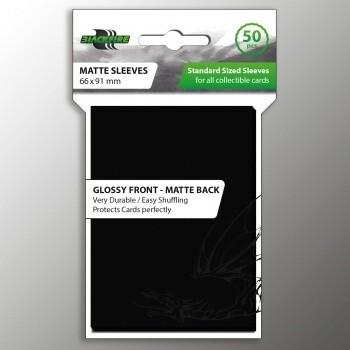 Blackfire Card Sleeves STD Black (50 Sleeves)