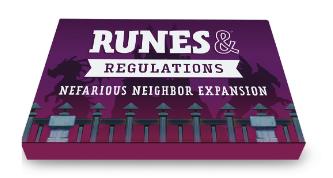 Runes & Regulations: Nefarious Neighbor Expansion EN