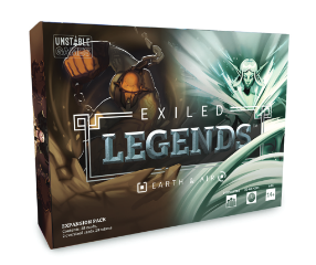 Exiled Legends: Earth & Air Expansion EN