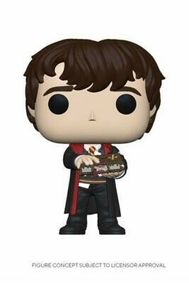POP Figure Harry Potter Neville with Monster Book