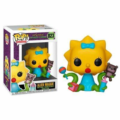 POP Figure Simpsons Maggie Alien