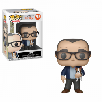 Pop Figure Modern Family Jay with Dog