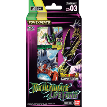 Dragon Ball Card Game Expert Deck 3 The Ultimate Life Form